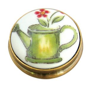 Watering Can Porcelain Knob