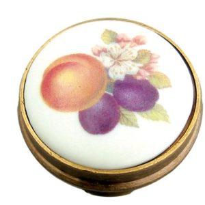 Peach Porcelain Knob