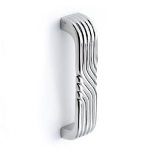 Art Deco Ridges D-Pull