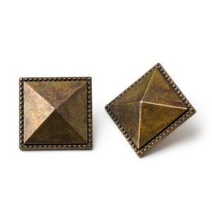 Aged Brass Door Stud