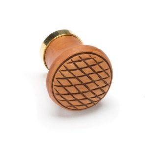 Terracotta joinery knob