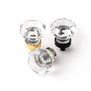 Moulded Glass Cabnet Knob