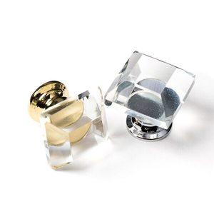 Trapezium Crystal Knob